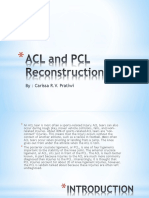 ACL and PCL Reconstruction Ppt