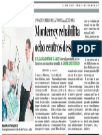 29-07-17 Monterrey rehabilita 8 centros de salud.