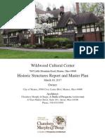 Proposed Wildwood Master Plan