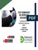 XXVI Dcho Aduanero 2013