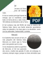 Sistema Solar Laminas