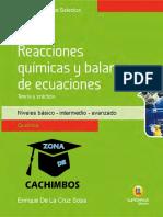 Temas Selectos - Reacciones Quimicas y Balance de Ecuaciones