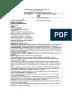 Secuencia Formato Oficial