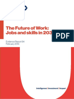 The Future of Work Evidence Report