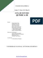 Guia de Estudio de Quimica III