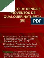 IR Conceitos Gerais e IRPF