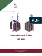 Manual elevador carga- Ideal (Reparado)