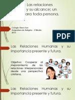 1 Relaciones Humanas y Su Alcance