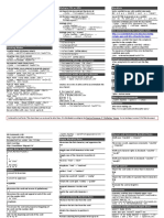 Jhon - JTR Cheat Sheet
