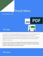 erickay oncology snack menu