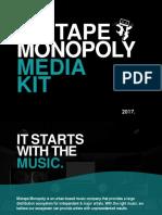 2017 Mixtape Monopoly Media Kit