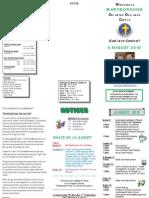 Newsletter August 8 2010