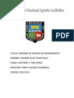 Informe de Motores y Tractores