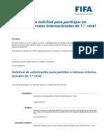 Formulariodesolicitudparaparticiparenpartidoesinternacionalde1.Ernivel Spanish