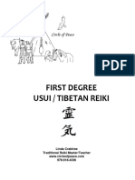 Reiki First Degree Manual April 2013