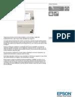Epson TM T20 Datasheet