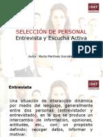 14entrevistayescuchaactivaenlaseleccindepersonalporimf-131230063331-phpapp02