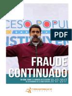 Informe de Transparencia Venezuela