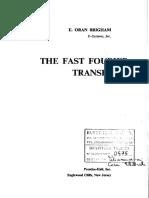 Brigham - Fast Fourier Transform.pdf