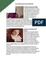 Mujeres Sobresalientes de Honduras