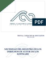 Presentación_Necesidad_Registro Derechos de Autor SW