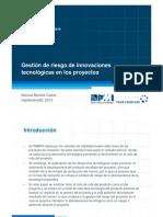 2013-04b-Manuel Benítez Codas-Gestion de Riesgos en Innovaciones