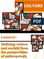 Elements and Aspects of Culture