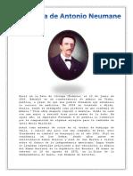 Biografía de Antonio Neumane 10 Hojas