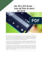 Bandas 3G y 4G de las operadoras de Perú al cierre del 2016.docx
