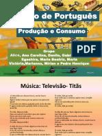 Trabalho de Português finalizado dos alunos