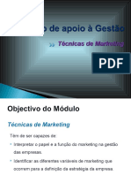 1 Técnicas de Marketing (Apresentação)