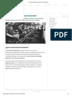 10 Características de La Revolución Industrial