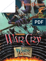 WarCry CCG - Binder Cover Chaos