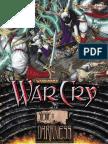 WarCry CCG - Binder Cover Dark Elf