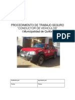 Pts Conductor de Vehiculos