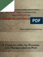 Empleo Pcd Perú
