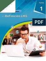 1.1. Definición LMS