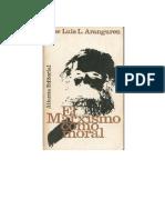 Aranguren El Marxismo Como Moral