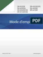 Samsung a3 2017 Fr Mode Demploi