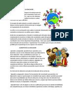 Sujetos, elementos y procesos de La Educación