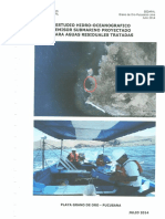 1 ESTUDIO HIDRO-OCEANOGRAFICO Emisores Submarinos Aguas Residuales Tratadas