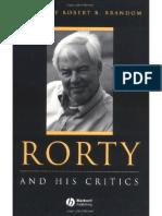 Brandom - Rorty and His Critics (Blackwell, 2000) 431p