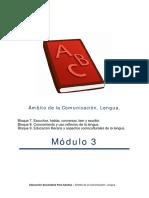Lengua Modulo 3