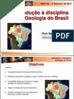 1. Introdução Geologia Do Brasil