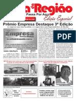 Jornal FOLHA DA REGIÃO. PROFESSOR SIZENANDO DE OLIVEIRA SILVA