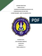 LAPORAN PRAKTIKUM TEKNIK DIGITAL (TEOREMA DE MORGAN DAN RANGKAIAN EXCLUSIVE OR)