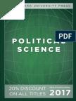 Political Science 2017 Catalog