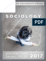 Sociology 2017 Catalog