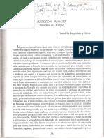 Bergson - Proust - Tensões Do Tempo