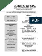 Ley Publicada en El Registro Oficial